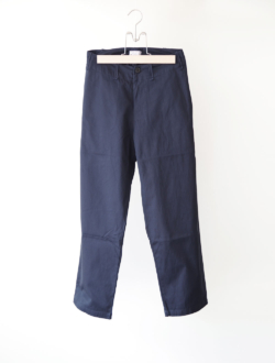 cotton gaberdine pants  navy