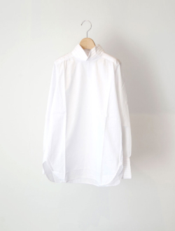 "gathered blouse ""karen"" white"