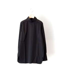 "gathered blouse ""karen"" black"