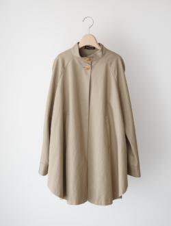 """cape coat """"capy"""" beige"""