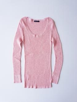 Lim home | cotton rib knit pink