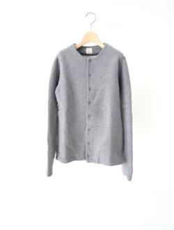 "sweat cardigan ""nai-no-nai cardigan"" grey"