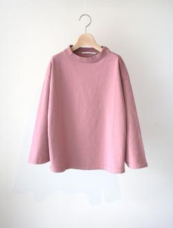 "long T ""slant cutsewn"" pink"