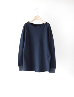 "raglan sleeve long T ""Cuddle T"" navy"