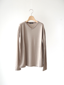 """Vneck knit P/O """"Violet"""" beige"""