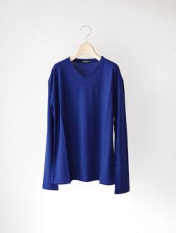 """Vneck knit P/O """"Violet"""" violet blue"""