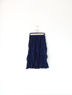 squeeze skirt  navy
