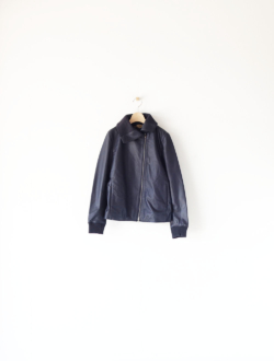 shaped widecollar JKT navy