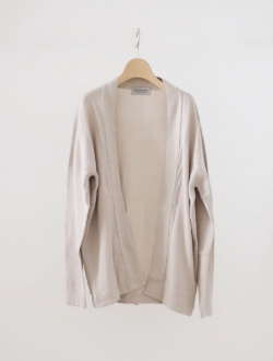 JOHN SMEDLEY | cotton cardigan beige