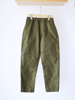 TRAVAIL MANUEL | back satin fatigue pants