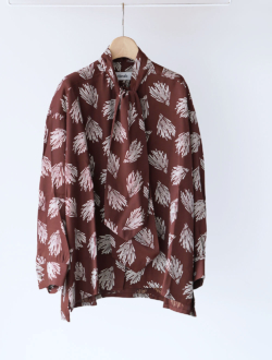 chimala | aloha print shirt brown