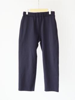YAECA | mockrody easy pants slim d.navy  19SS