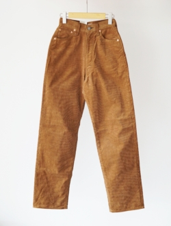 "LENO | ""KAY"" high waist corduroy pants  beige"