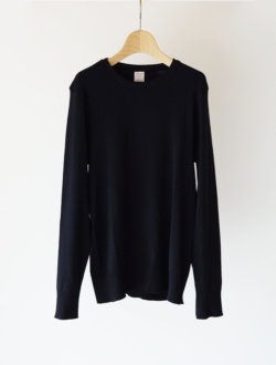 "cotton knit ""FRAGORA"" black"