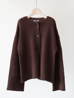 "knitcardigan ""mavis"" brownのサムネイル"